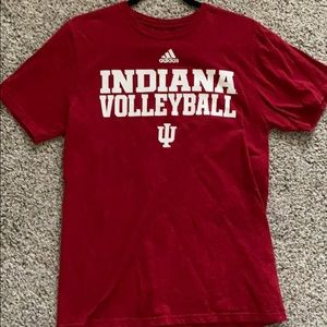 indiana volleyball t-shirt